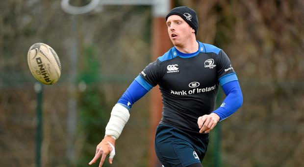 Darragh Fanning in action during squad training