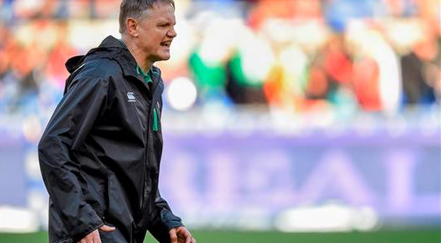 Around 2,500 fans will get to watch Joe Schmidt put his squad through their paces at the open training session