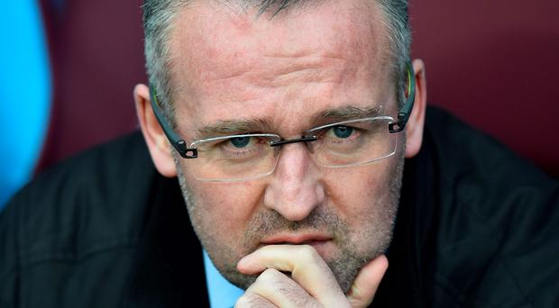 Lambert was left stunned after receiving a call from chief executive Tom Fox on Wednesday afternoon informing him he was to be dismissed after two-and-a-half years.