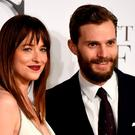 Dakota Johnson and Jamie Dornan attend the UK Premiere of