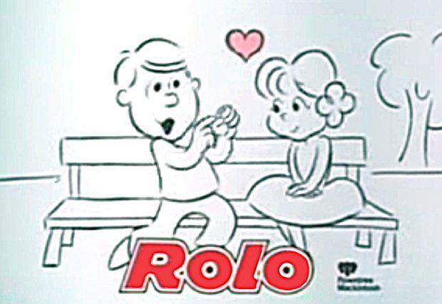 Scene from Rolo advert which been voted the most romantic ad of all time