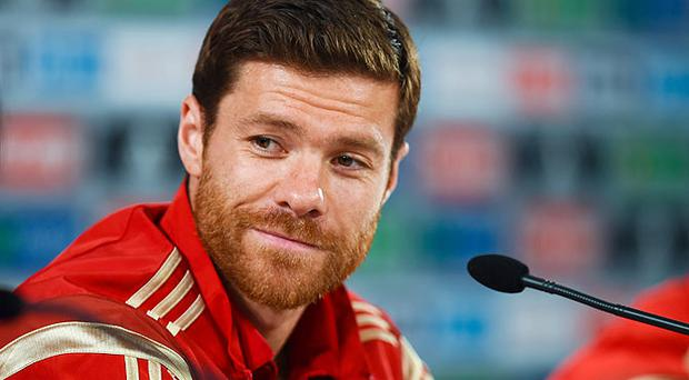 Xabi Alonso has named Paul Scholes and Steven Gerrard in his Champions League Dream Team