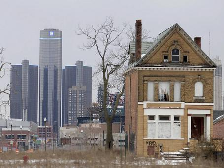 Detroit, the once-mighty symbol of America's manufacturing strength