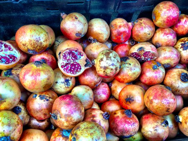 Pomegranate - Known as the love apple, here's another suggestive fruit that packs a punch. It's high in anti-oxidants, so boosts blood flow, in turn increasing genital sensitivity.