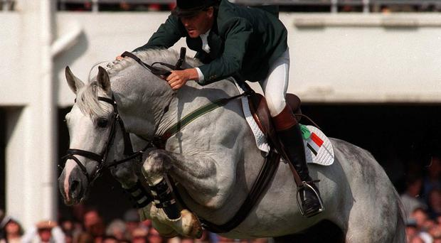 Trevor Coyle on Cruising during The Aga Khan Cup at the RDS in 1999