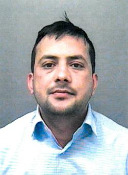 Zubair Khan who has been jailed for his part in a sham wedding. Photo: Home Office/PA Wire