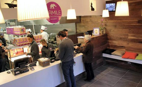 The eighth Camile outlet will shortly open on Dublin's Pearse Street