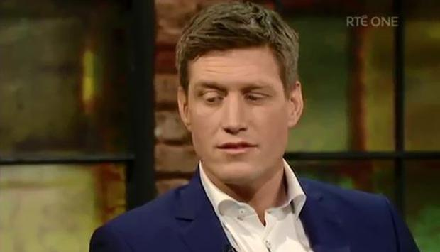 Ronan O'Gara on the Late Late Show