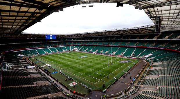 A general view of Twickenham Stadium before the 6 Nations match at Twickenham, London. PRESS ASSOCIATION Photo. Picture date: Saturday February 14, 2015. See PA story RUGBYU England. Photo credit should read: David Davies/PA Wire