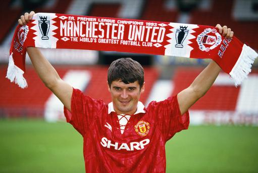 Roy Keane was one of the most influential foreigners to play in the Premier League