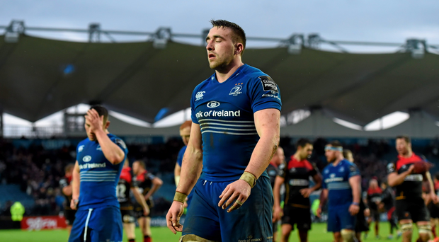 Jack Conan, Leinster, following his side's defeat