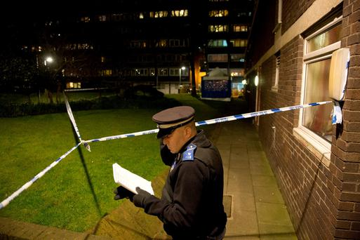 Police attend a property at Landor House, Westbourne Park Road, west London, as detectives have launched a murder investigation after three people were found dead Laura Lean/PA Wire