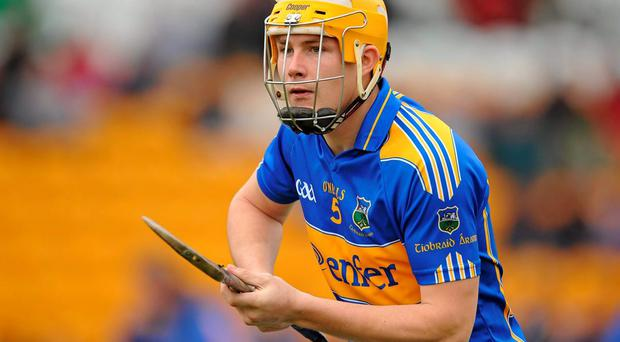 David Young in action for Tipperary