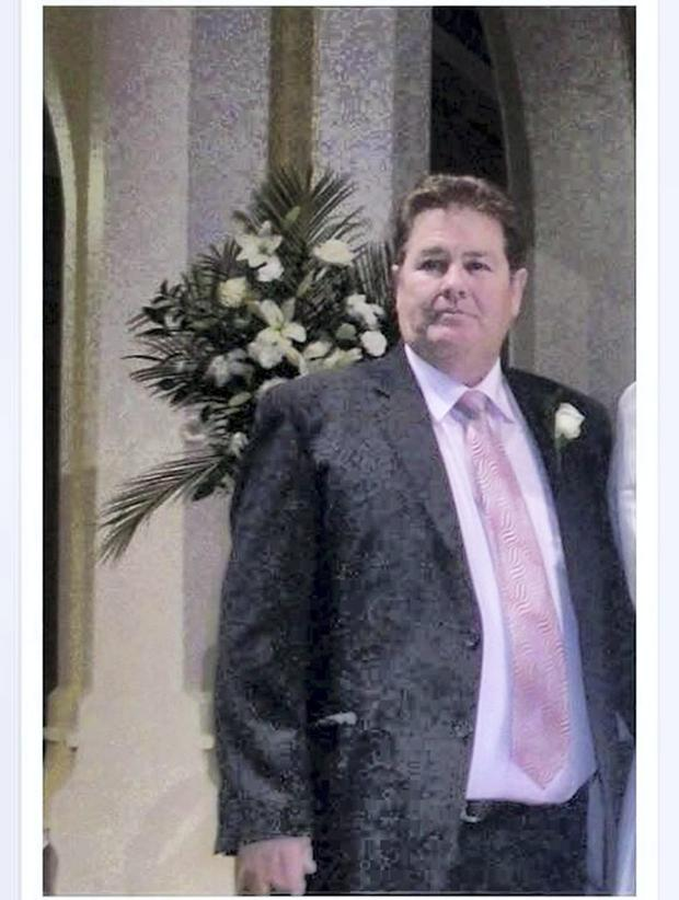 Barney McGinley, who was shot dead at a wedding in Newtownbutler, Co Fermanagh on February 12