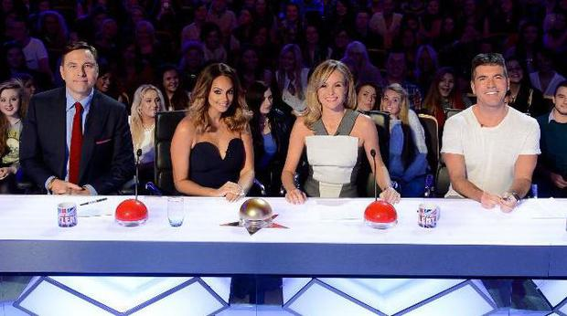 Amanda Holden, Alesha Dixon, David Walliams and Simon Cowell are all back for the new series of Britain's Got Talent (Syco Entertainment/ITV)