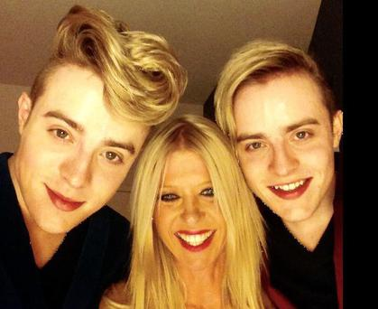 Tara Reid has hinted Jedward will join her for Sharknado 3