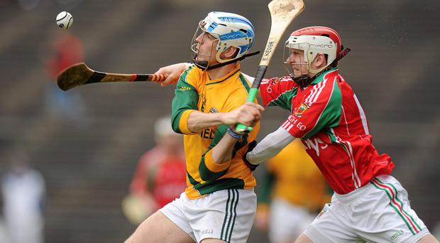 Brian Hunt of Mayo (right)
