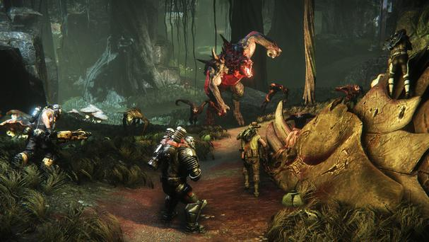 Evolve: the hunters become the hunted