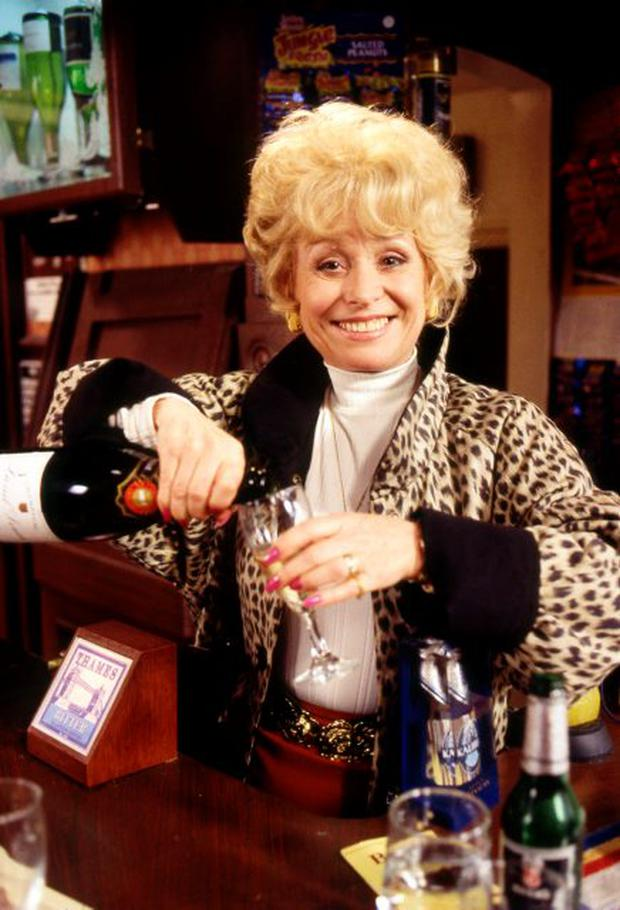 EastEnders - archive shot for 30th anniversary - Peggy Mitchell (Barbara Windsor) (C) BBC - Photographer: BBC