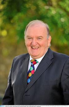 George Hook eloquently discussed his ideas about existence. Photo: Sportsfile