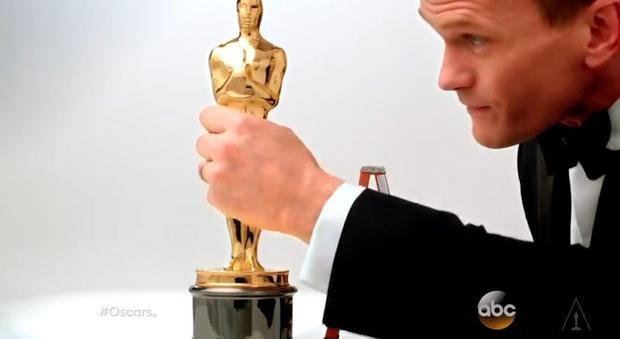 Neil Patrick Harris is the host of the 87th Oscars in Hollywood tonight.