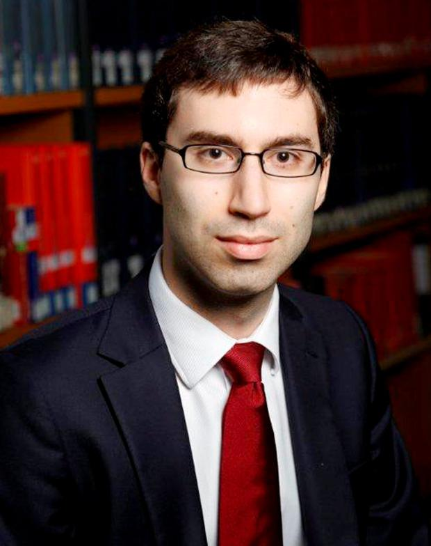 Dr Samuel Cohen who is the lead author of a study showing a molecule, which occurs naturally in humans, has been identified by scientists who believe it could break the cycle of events which lead to the most common form of dementia