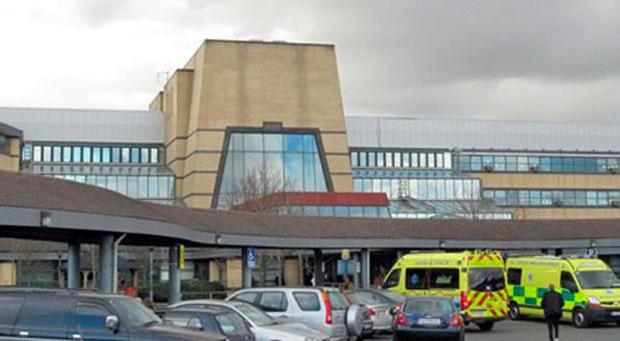 Tallaght Hospital where the incident occurred