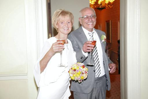 Betty was 70 when she married her second husband, Hugh.