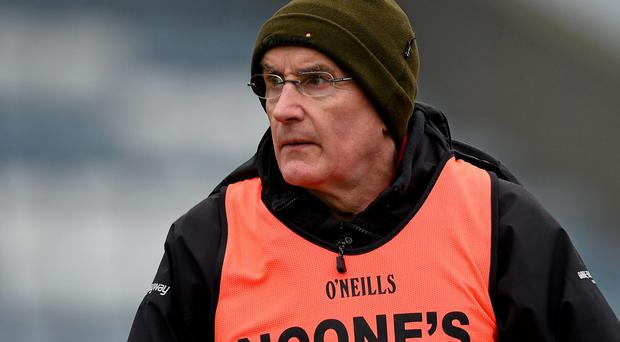 Slaughtneil manager Mickey Moran is hugely experienced in preparing teams for big games, but Corofin have plenty of expertise in that area. Photo: Brendan Moran / SPORTSFILE