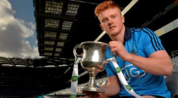 Conor McHugh believes he can continue to improve while surrounded by Dublin's impressive array of attacking options. Photo: Brendan Moran / SPORTSFILE