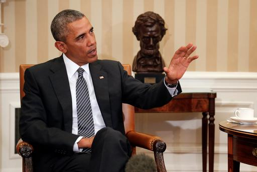 U.S. President Barack Obama's controversial plans to regularise the status of some five million illegal immigrants to the US suffered a setback after a court in Texas ruled the president had exceeded his authority with the proposals (REUTERS/Jonathan Ernst)