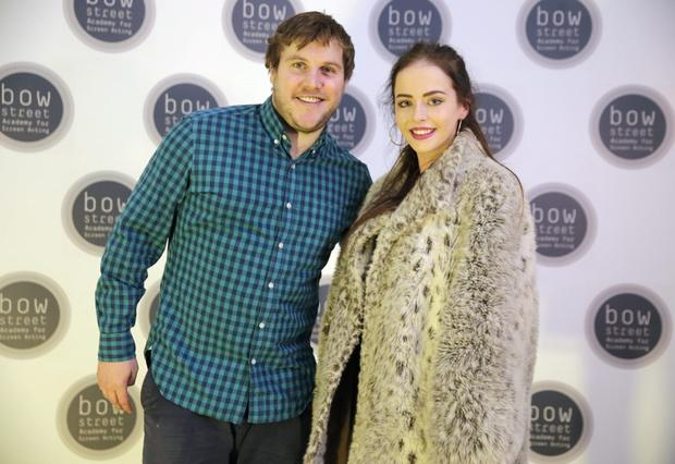 Peter Coonan and Kelly Thornton at the opening of the Bow Street Academy for Screen Acting, Smithfield. Picture:Arthur Carron