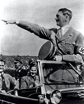 Adolf Hitler in 1934 – unquestioning fundamentalism has underpinned some of the greatest evils in history.
