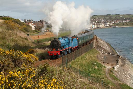 The Emerald Isle Explorer. Steam Dreams is offering a week-long tour of Ireland by steam train this June. Photo: Finbarr O'Neill