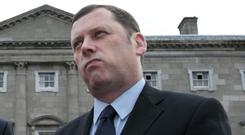 Fianna Fail environment spokesmen Barry Cowen