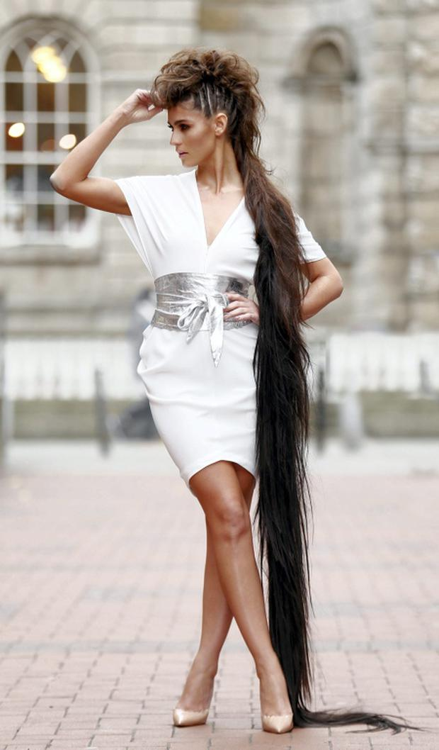 Great Lengths officially announce its inaugural Great Lengths Awards in Ireland as Lynn Kelly models
