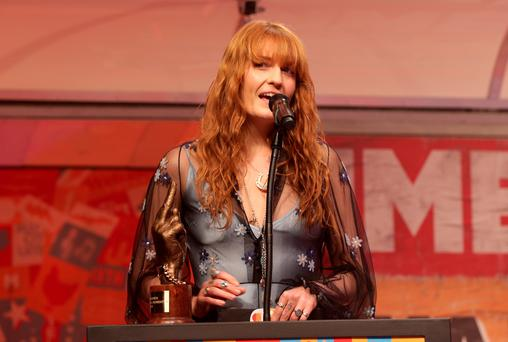 Musician Florence Welch has been approached by Apple for its new streaming service