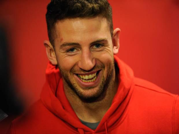 Wales star Alex Cuthbert was involved in an altercation with a member of the public in December which was captured on video.