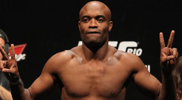 Anderson Silva failed a drugs test earlier this year