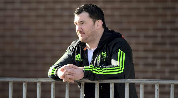 Munster players and management have been fulsome in their praise for hooker Damien Varley, who was forced to retire from the game through injury