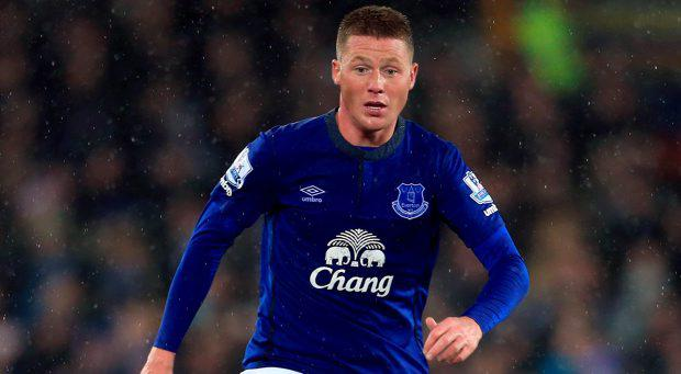 Everton's James McCarthy
