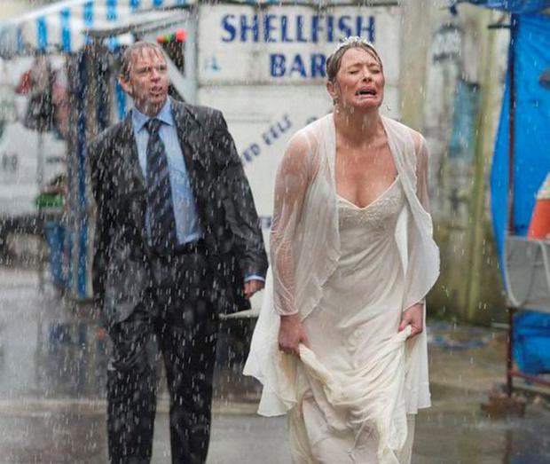 Ian Beale humilates wife Jane on their first wedding day