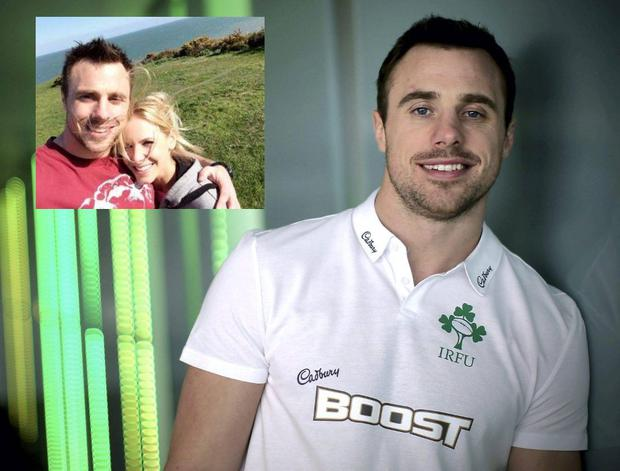 2790664e0b81 Irish rugby star Tommy Bowe sets the date for wedding to Lucy Whitehouse