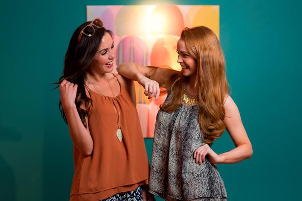 Sinead Noonan and Aoife Walsh launches Lidl's Spring/Summer 2015 Collection
