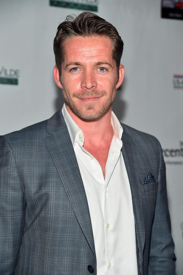 Actor Sean Maguire attends the US-Ireland Aliiance's Oscar Wilde Awards event at J.J. Abrams' Bad Robot on February 19, 2015 in Santa Monica, California