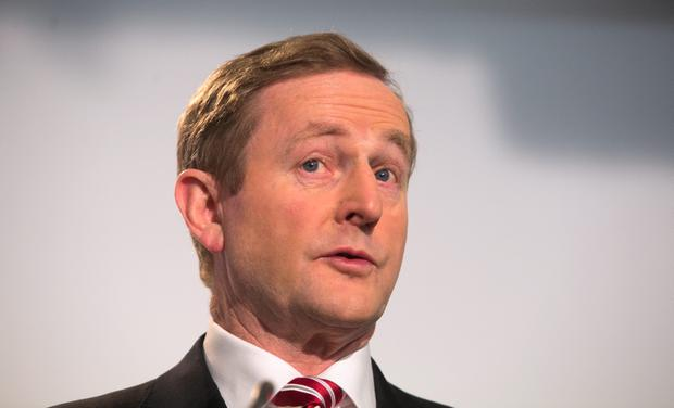 An Taoiseach Enda Kenny. Photo: Gareth Chaney Collins