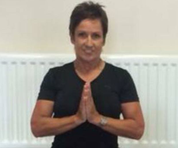 Yoga teacher Evelyn Donnelly
