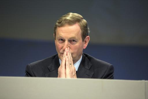Taoiseach Enda Kenny at the Fine Gael's National Conference 2015 in the TF Royal Hotel Castlebar. Pic: Mark Condren