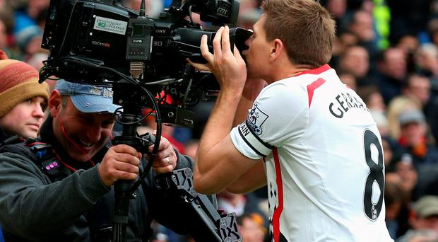 Steven Gerrard: Good TV but staggeringly bad captaincy