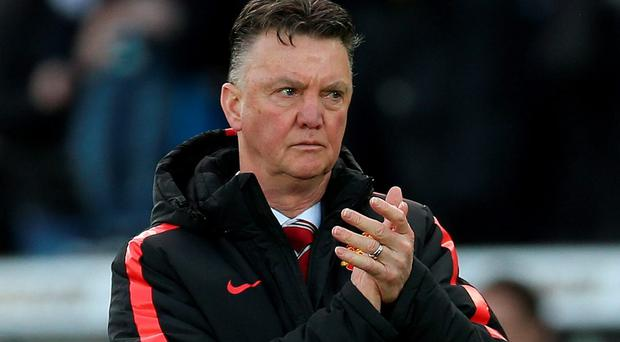 Louis van Gaal branded Manchester United's defeat at Swansea as 'amazing'